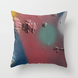 Graffiti Detail 3 Throw Pillow