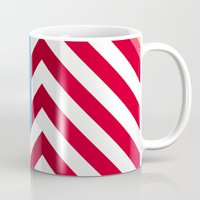 flag Mugs featuring Flag by Ryan Winters