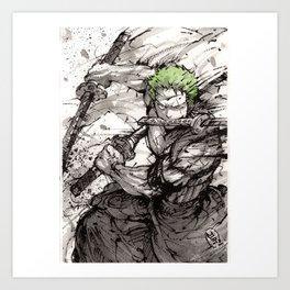 Zoro! Art Print