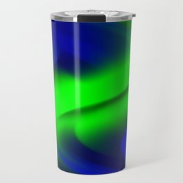 DREAM PATH (Blues & Greens) Travel Mug