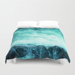 Deep Green Sea Duvet Cover