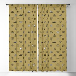 House of the Loyal - Pattern II Blackout Curtain
