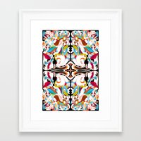 shell Framed Art Prints featuring Shell by András Récze