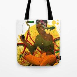 Essentia.Yellow Tote Bag