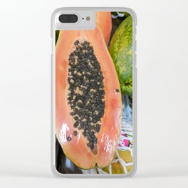 PAPAYA Clear iPhone Case