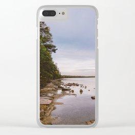 Sunrise at Lake Crawford Clear iPhone Case