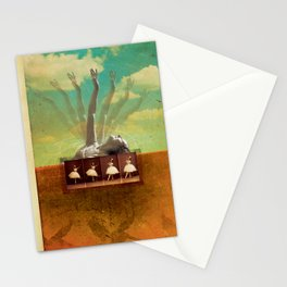 Social Life #2 (The Dancer) Stationery Cards