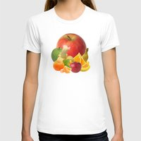 fruit T-shirts featuring Fruit by Bo Derks