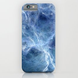 Blue storm iPhone Case