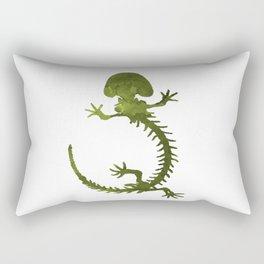 Hellbender skeleton Rectangular Pillow