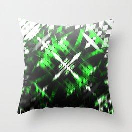 Metallic X Throw Pillow