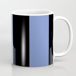 5th Avenue Stripe No. 4 in Lapis and Black Onyx Coffee Mug