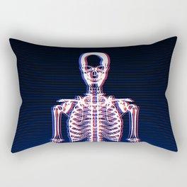 Glitch & Bone Rectangular Pillow