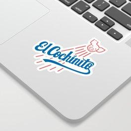 El Cochinito LA logo Sticker