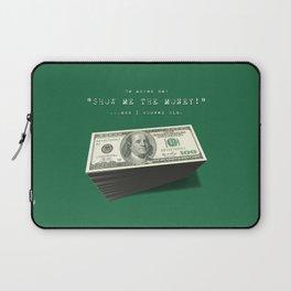 Show Me The Money - USD Casino Jackpot  Laptop Sleeve