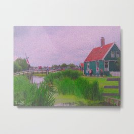Monet style no.3 Metal Print