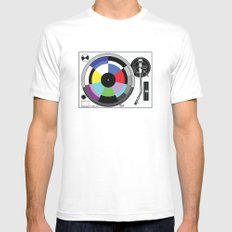 1 kHz #11 Mens Fitted Tee White MEDIUM