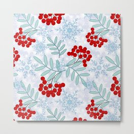 Christmas pattern.2 Metal Print