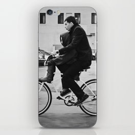 Brothers biking  iPhone Skin