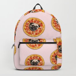 99a18e515a9e Pug Lover Pizza Backpack
