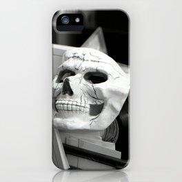 Skull mask, Old Curiosity Shoppe, Suisun City, CA  iPhone Case