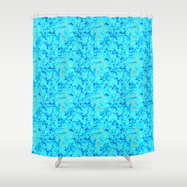 Fire for decorative products Shower Curtain