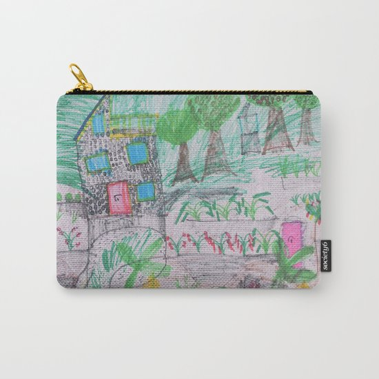 Place of Love - Handmade from Pascal  (A7 B0237) Carry-All Pouch