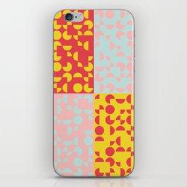Mid Century Geometric Pattern III iPhone Skin