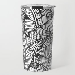 Black & White Jungle #society6 #decor #buyart Travel Mug