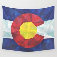colorado Wall Tapestries featuring Colorado by Fimbis