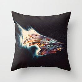 Boltar Scoutship Throw Pillow