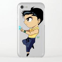 Urameshi Clear iPhone Case