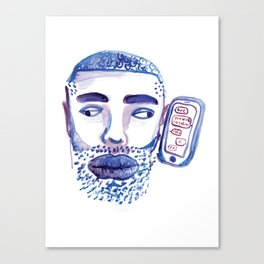 hotline sms Canvas Print