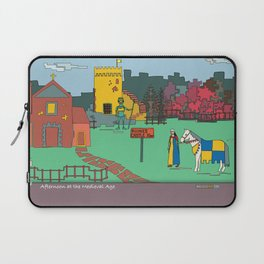 Afternoon at the Medieval Age Laptop Sleeve