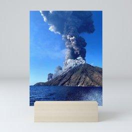Volcano Mini Art Print