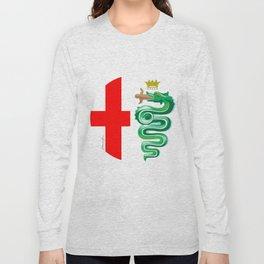 Alfa Romeo logo interpretation! Long Sleeve T-shirt