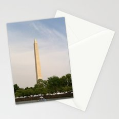 Paddling Up to the Washington Monument Stationery Cards