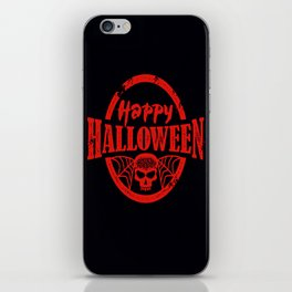 Happy Halloween iPhone Skin