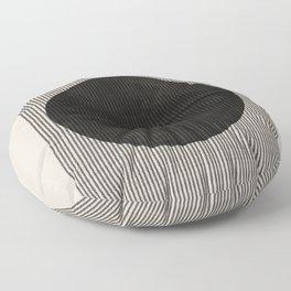 Minimalist Paper Art Floor Pillow