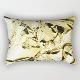 Gold foil Rectangular Pillow