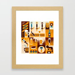 Beer Concept Framed Art Print