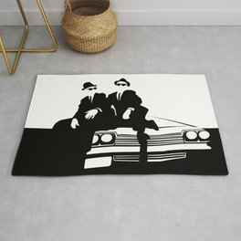 Blues Brothers Rug