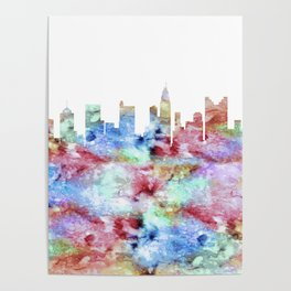 Columbus Ohio Skyline Poster