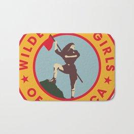 Wilderness Girls of America Bath Mat