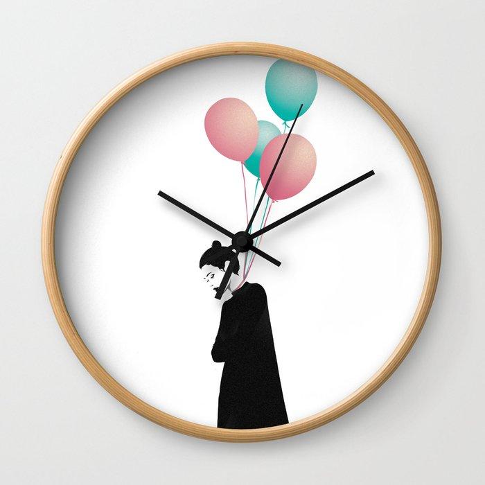 Balloons 4 Wall Clock
