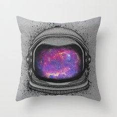 The universe mind Throw Pillow