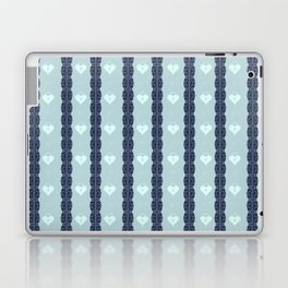 Blue Locket Laptop & iPad Skin