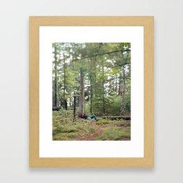Carousel 7 Framed Art Print