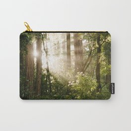 sunlit redwoods Carry-All Pouch