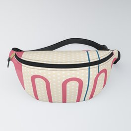 Memphis Polka Dots Throwback Retro 1980s 80s Trendy Hipster Pattern Eighties Fanny Pack